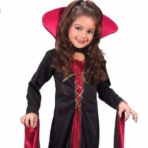 Victorian Vampire Kids Costume item #8723 L 12-14